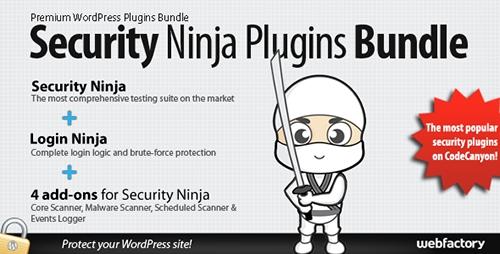 CODECANYON - SECURITY NINJA PLUGINS BUNDLE V1.80 - 8926745