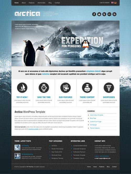 Ait-Themes - Arctica v2.44 - Beautiful WordPress Theme