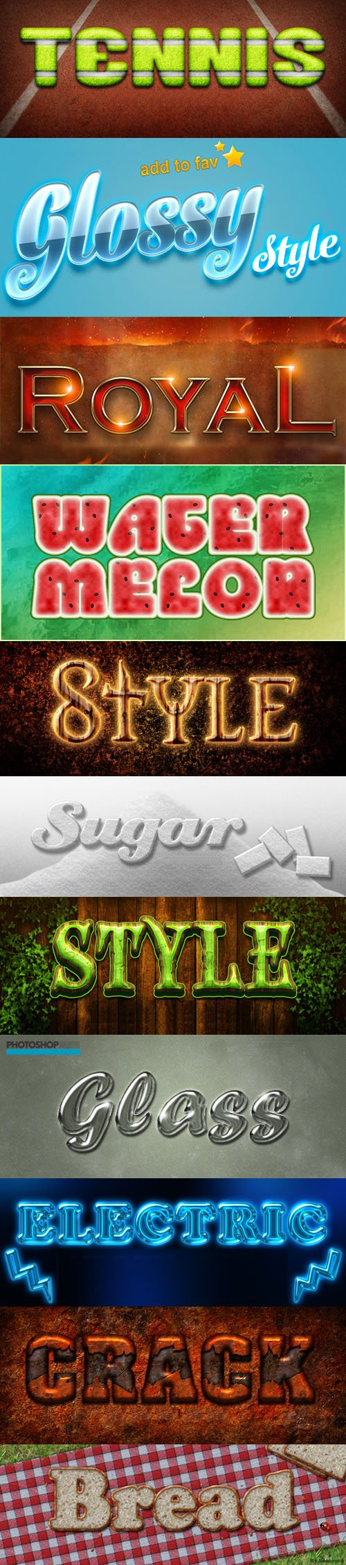 Action Game Styles Collection 2 one click applicable photoshop