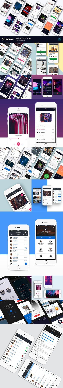 Shadow - Mobile UI Kit