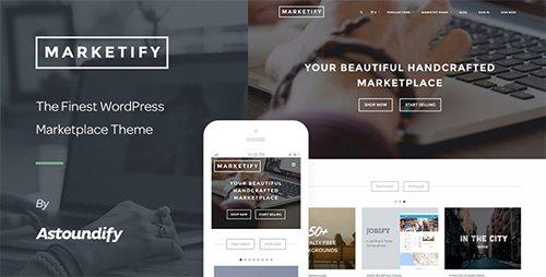 ThemeForest - Marketify v2.15.0 - Digital Marketplace WordPress Theme - 6570786