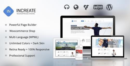 ThemeForest - inCreate v1.2.4 - Responsive MultiPurpose WordPress Theme - 6925109