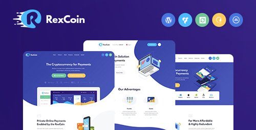 ThemeForest - RexCoin v1.0 - A Multi-Purpose Cryptocurrency & Coin ICO WordPress Theme - 22548336