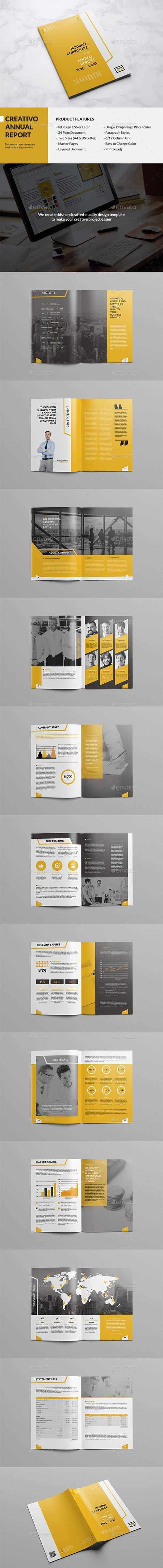 Graphicriver - Creativ - Annual Report 14321174