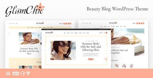 ThemeForest - GlamChic v1.0 - Beauty & Blog Online Magazine WordPress Theme - 21704047