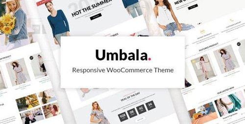 ThemeForest - Umbala v1.3.1 - Stylish Fashion Clothing WooCommerce Theme - 21913200