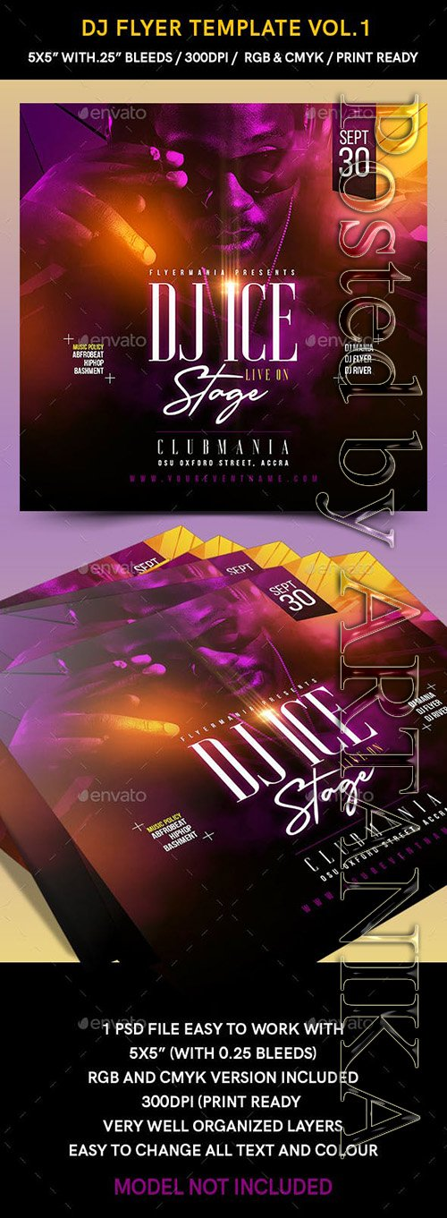 GraphicRiver - DJ Flyer Template Vol1 23488823