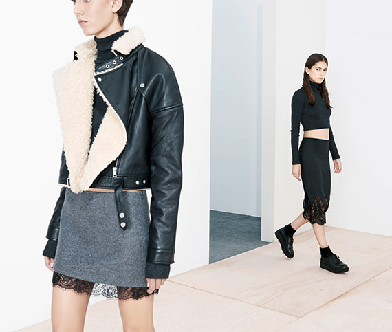 Zara TRF October 2013 Lookbook