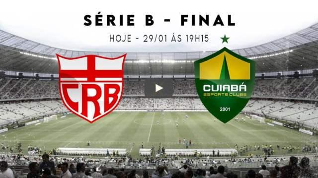CRB x Cuiabá ao vivo hoje