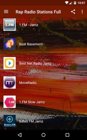 hop apps - Rap Radio Stations Full.