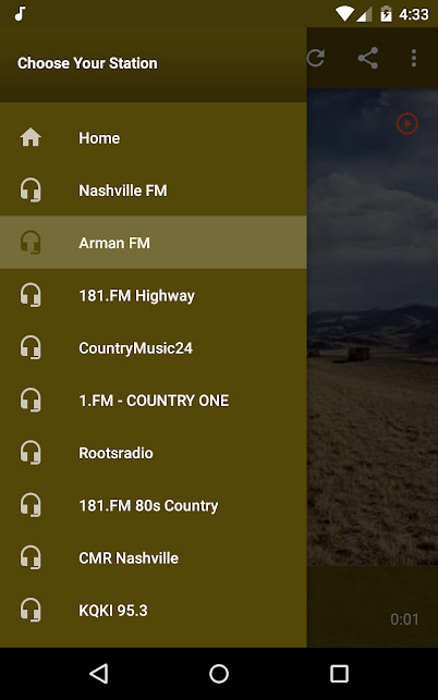 Country music apps - The Country Music Radio
