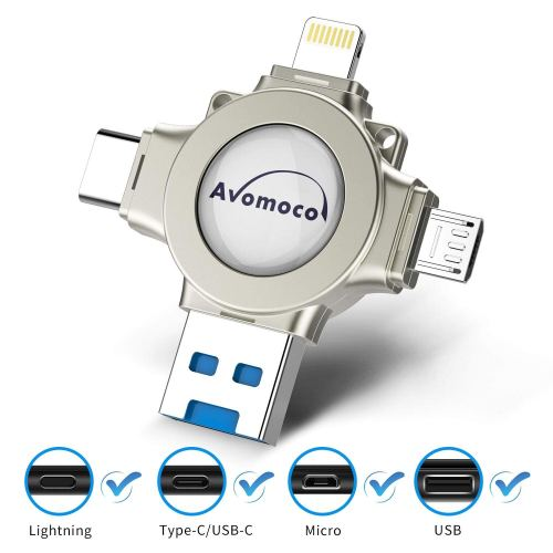 Top USB flash drives for 2019 - Avomoco 4 in 1