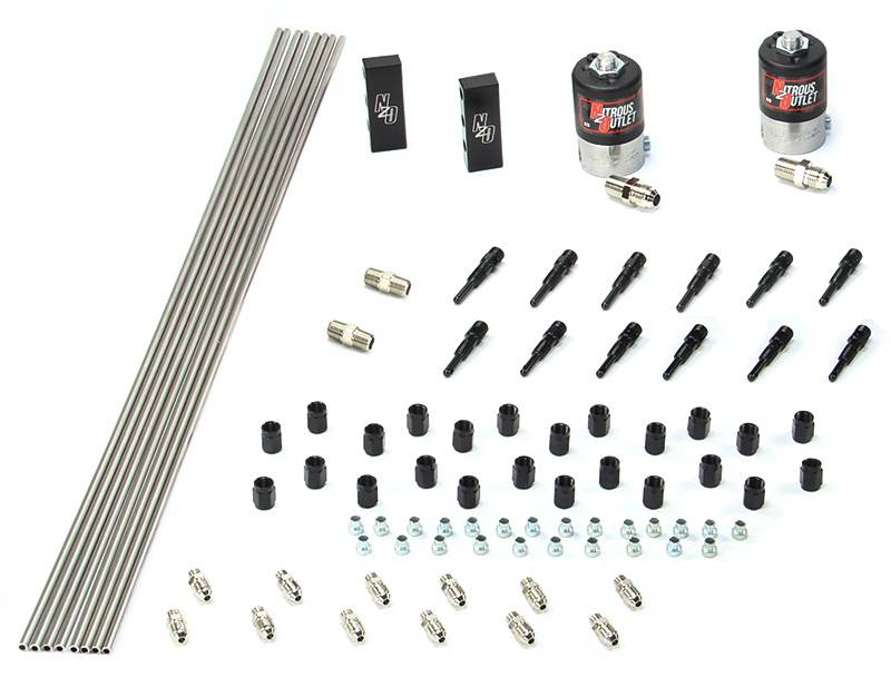 Dry Dual Stage 6 Cylinder 2 Solenoids Forward Plumbers Kit