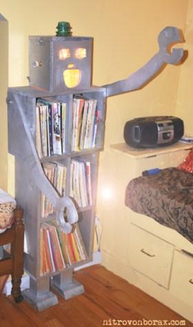 robot shelf