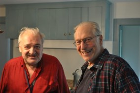 Wilhelm Kogelmann (Mountain Neighbor) and Bob Andronici
