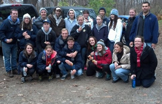 November 4 Work Crew.