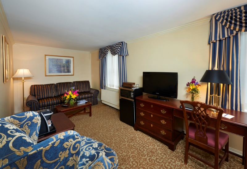 Deluxe Double Rooms in State College PA  The Nittany Lion Inn  The Official Site  Luxury