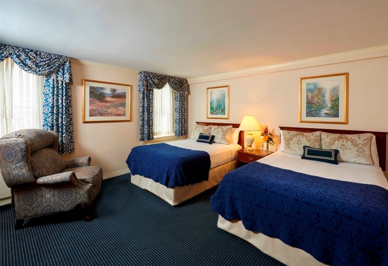 Standard Double Rooms in State College PA  The Nittany Lion Inn  The Official Site  Luxury