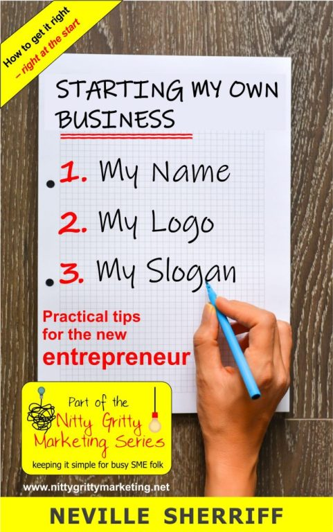 business name and logo