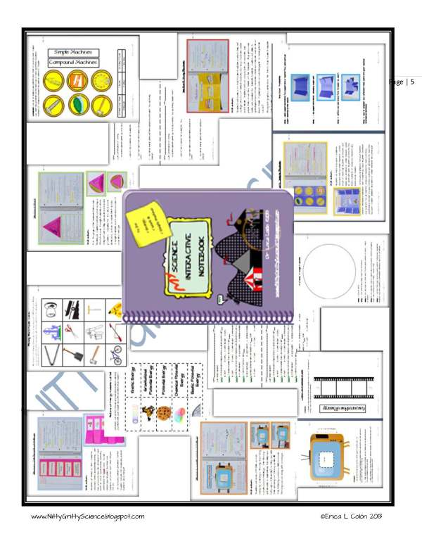 Demo Energy Work and Simple Machines Page 5 - Energy, Work & Simple Machines
