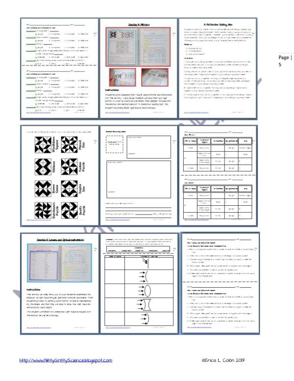 Demo Sound Light Mirrors and Lenses Page 5 - Sound, Light, Mirror and Lenses