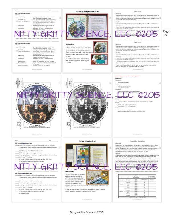 ES INB A Trip Through Earths History Page 5 - A Trip Through Earth's History