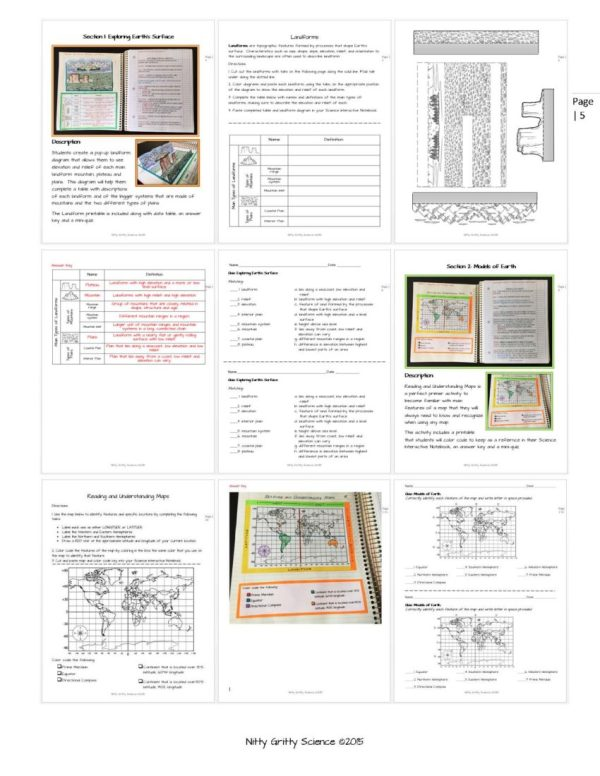 ES INB Mapping Earths Surface Page 5 - Mapping Earth's Surface