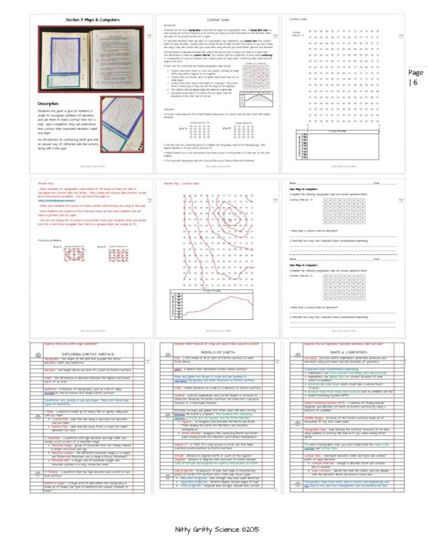 ES INB Mapping Earths Surface Page 6 - Mapping Earth's Surface