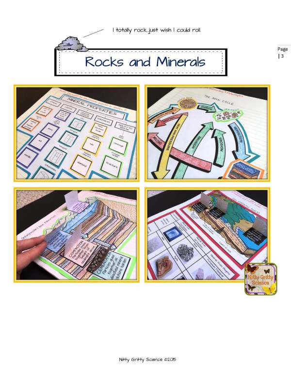ES INB Rocks and Minerals Page 03 - Rocks and Minerals