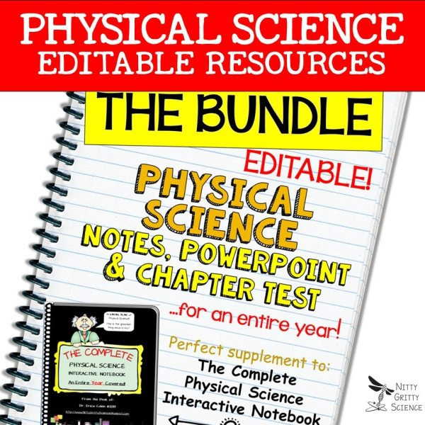 LS Bundle - Physical Science Curriculum – Ultimate Bundle v 2.0 ~ NO LABS
