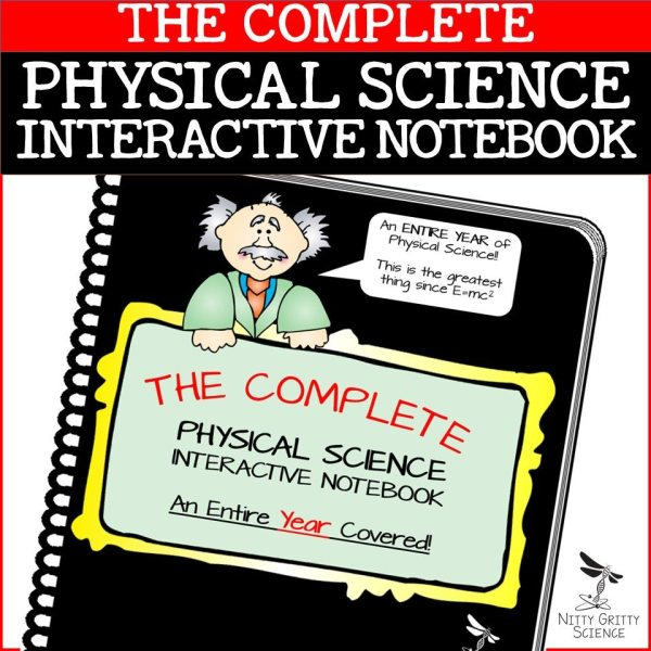 PS COMPLETE 1 - Physical Science Interactive Notebook - The Complete Bundle for an Entire Year