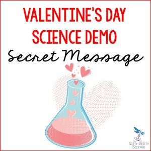 Valentines Day Demo Secret Message 2 - Valentine's Day Science Demo - Secret Message {Acids and Bases}