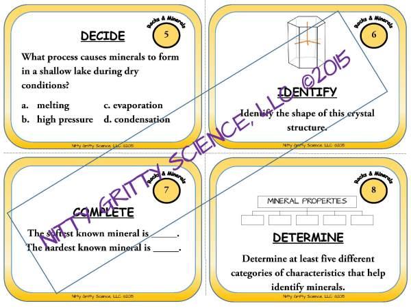 demoEarthScienceTaskCardBUNDLE2093572 1 Page 03 - Earth Science Task Card BUNDLE