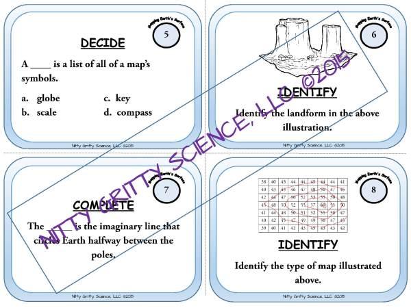 demoEarthScienceTaskCardBUNDLE2093572 1 Page 05 - Earth Science Task Card BUNDLE