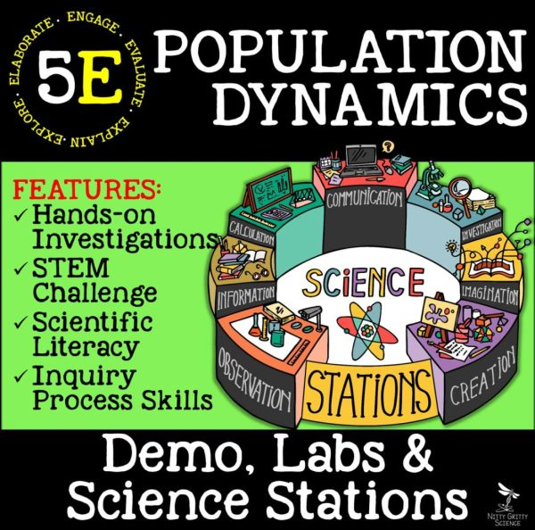 demoPreviewPopulationDynamics Page 1 - POPULATION DYNAMICS - Life Science Demos, Labs and Science Stations