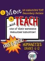 http://www.teacherspayteachers.com/Product/Meet-and-Teach-eBook-Humanities-Grades-6-12-Free-1466589