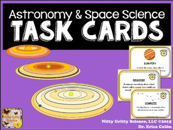 original 2235200 1 - Astronomy and Space Science: Earth Science Task Cards