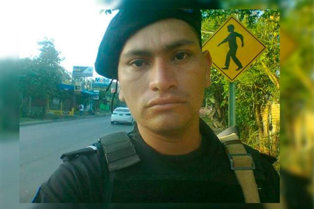 Julio César Espinoza se integró como suboficial de la DOEP hace cinco años. Cortesía | Confidencial