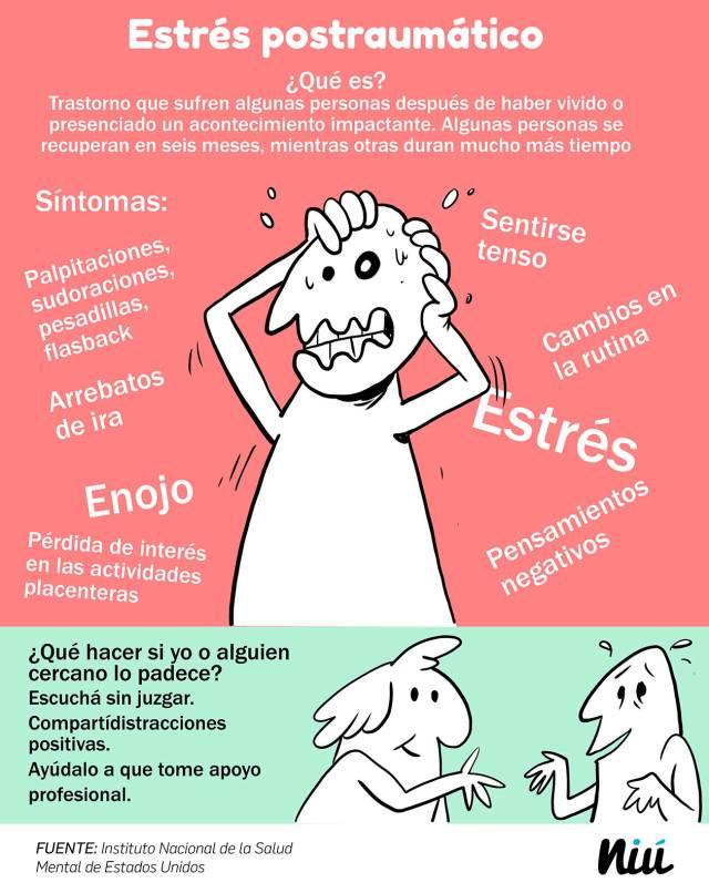 Estrés postraumático por crisis de salud mental en Nicaragua