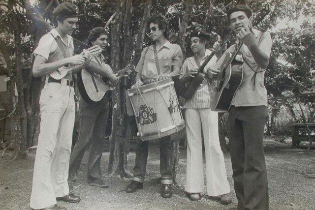 Grupo Pancasán en julio de 1979. Cortesía | Niú