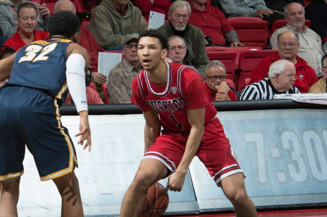 Image result for Northern Illinois Huskies vs. Ball State Cardinals College Basketball 2019