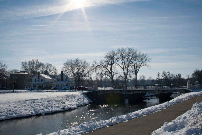 Winter on the Bridge