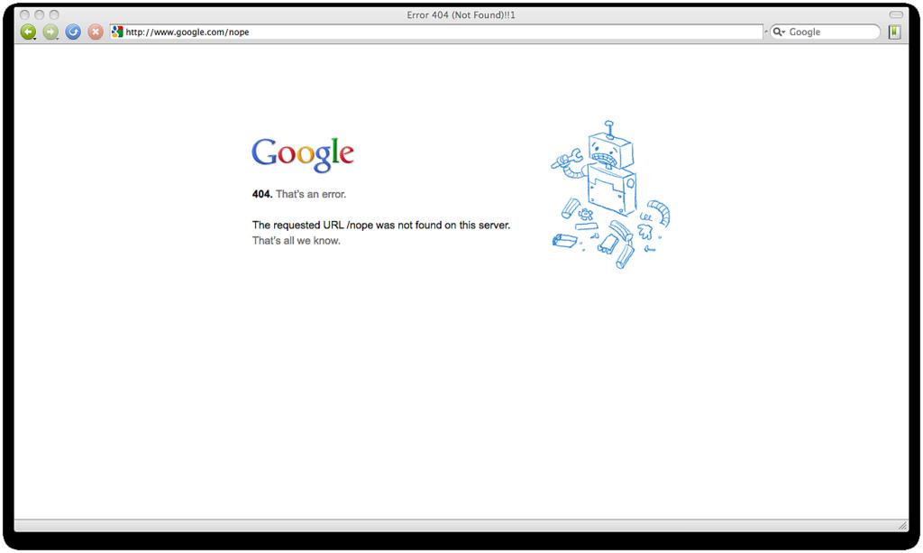 ¿Qué Sucedería si Alguna Vez Google se Cayera por Media Hora?