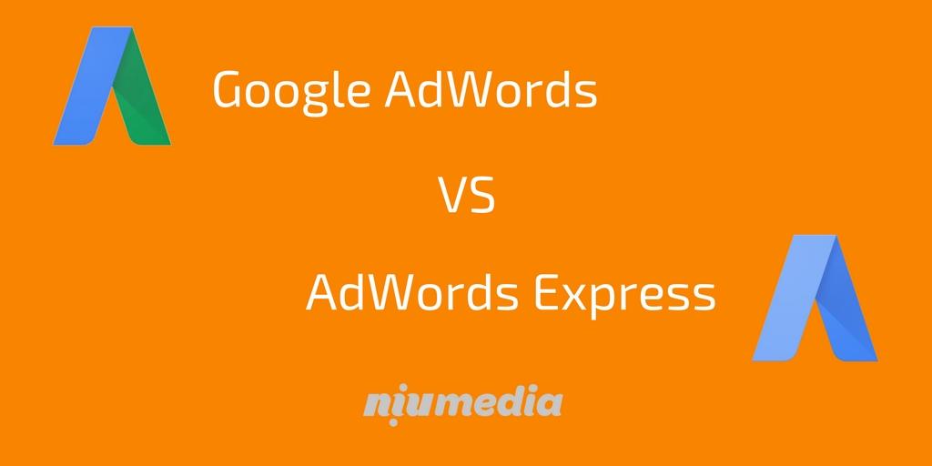 Google AdWords VS AdWords Express