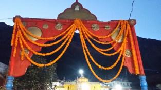Badrinath Temple Entrance