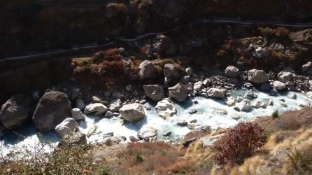 River Alaknanda in Mana Village