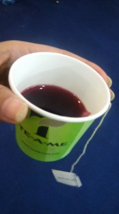 Hall 18-Apple and Cranberry Infusion Sample
