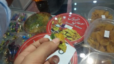 Hall 18-Iran, Delicious Sohan Sweet!