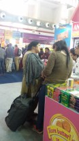 Hall 18-Yes, trolley bags were brought for shopping!
