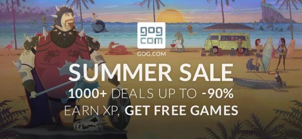 Începe GoG.com Summer Sale 2016